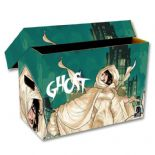 Comic Book Cardboard Storage Box with Dark Horse Comics Ghost Artwork, holds 150-175 Comics